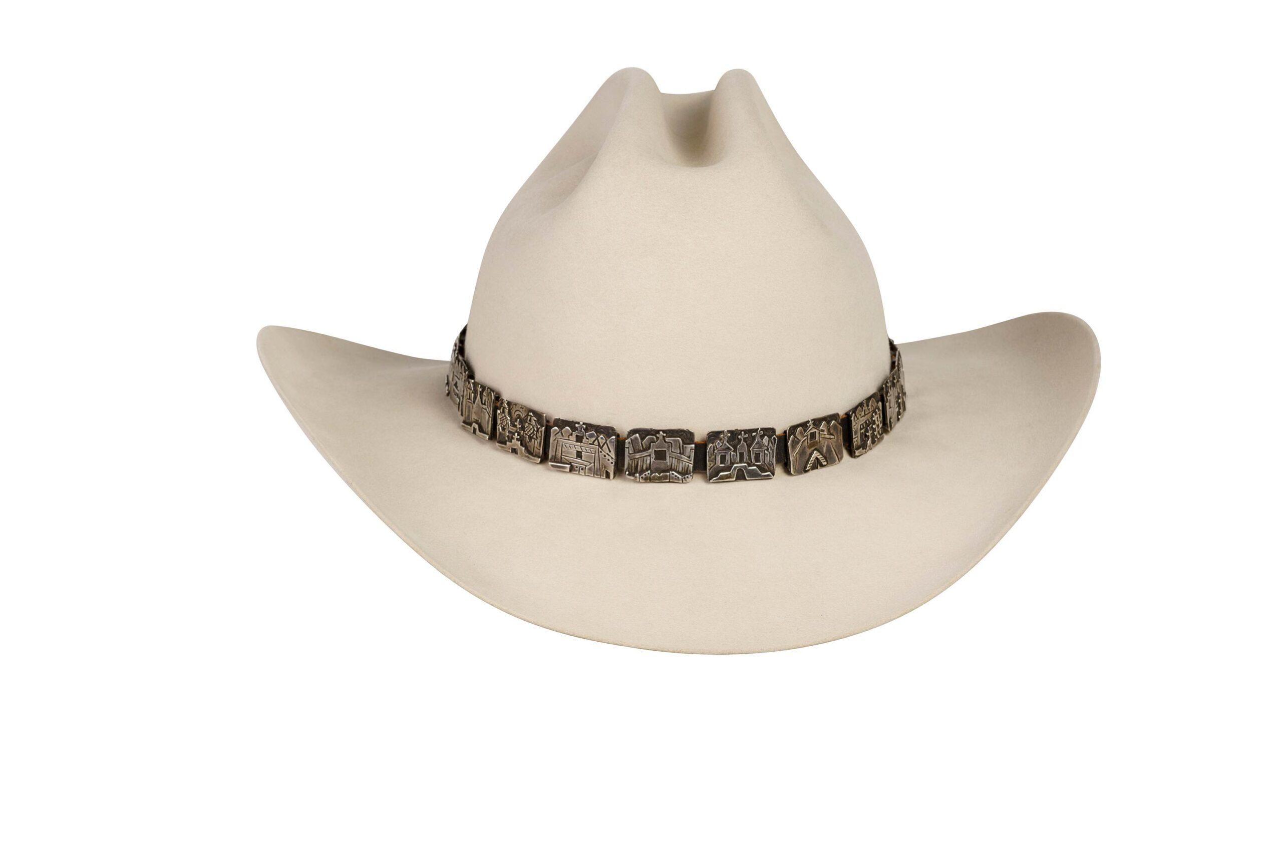 Alarid Sterling Storyteller Hat Band 6090