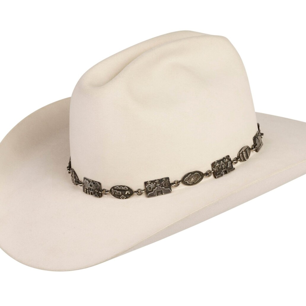 Alarid Linked Sterling Storyteller Hat Band 6093