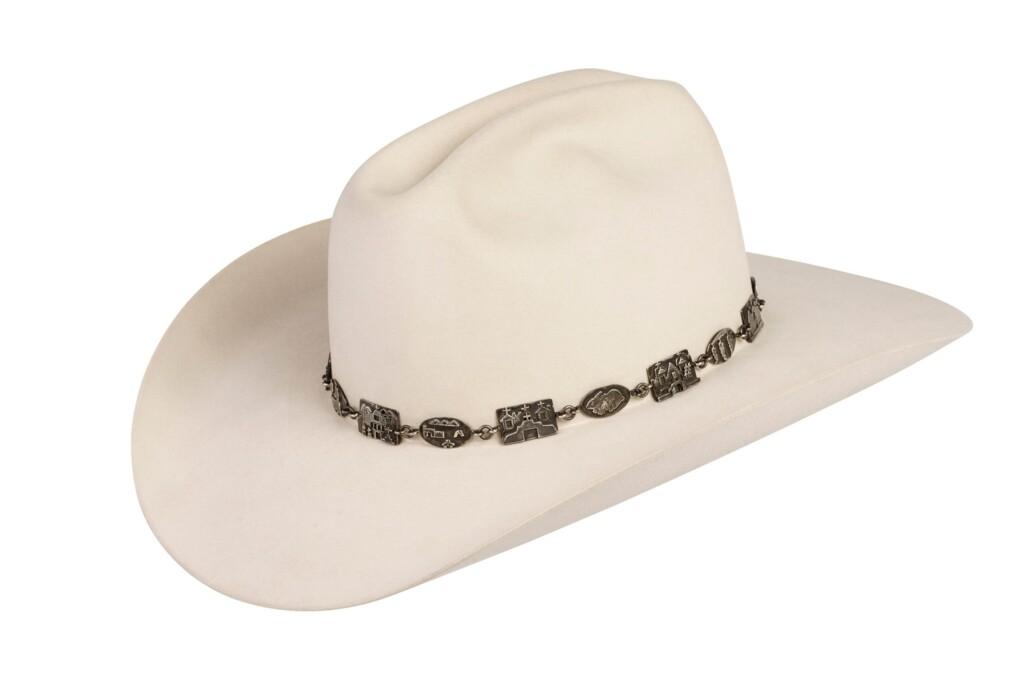Alarid Linked Sterling Storyteller Hat Band