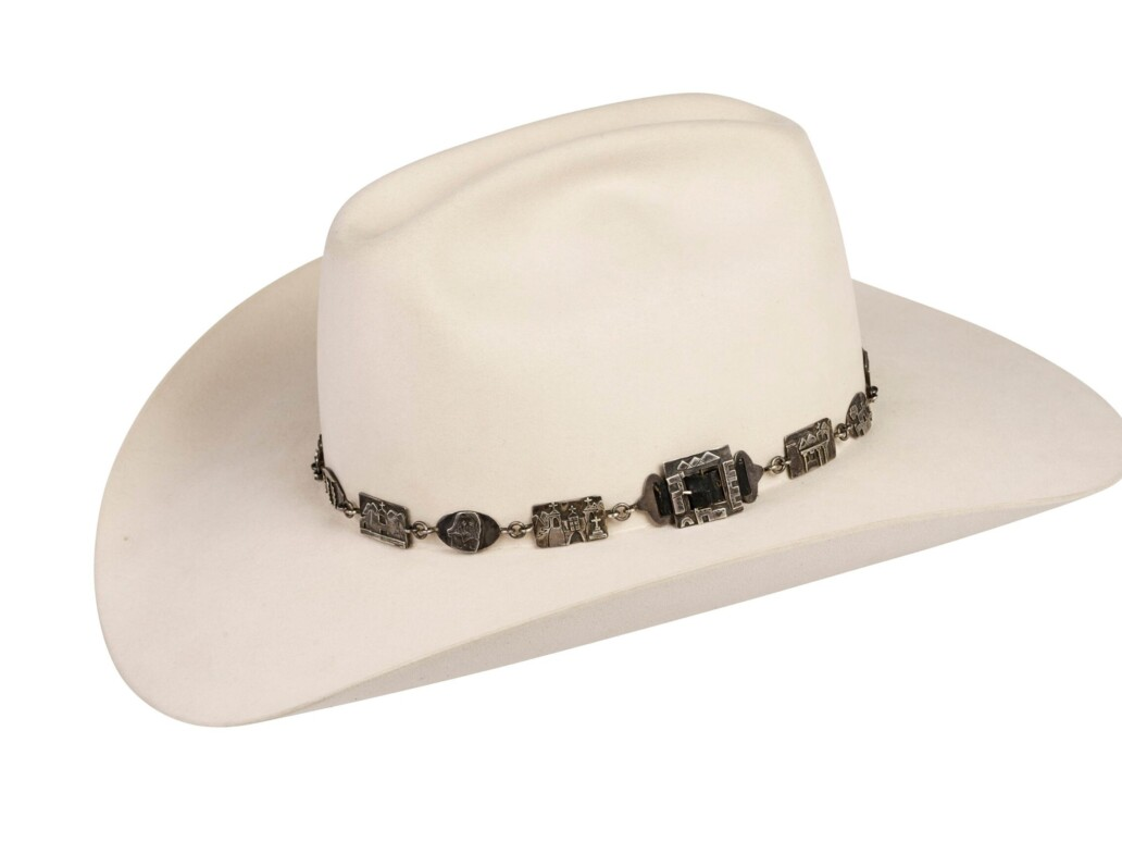 Alarid Linked Sterling Storyteller Hat Band 6105