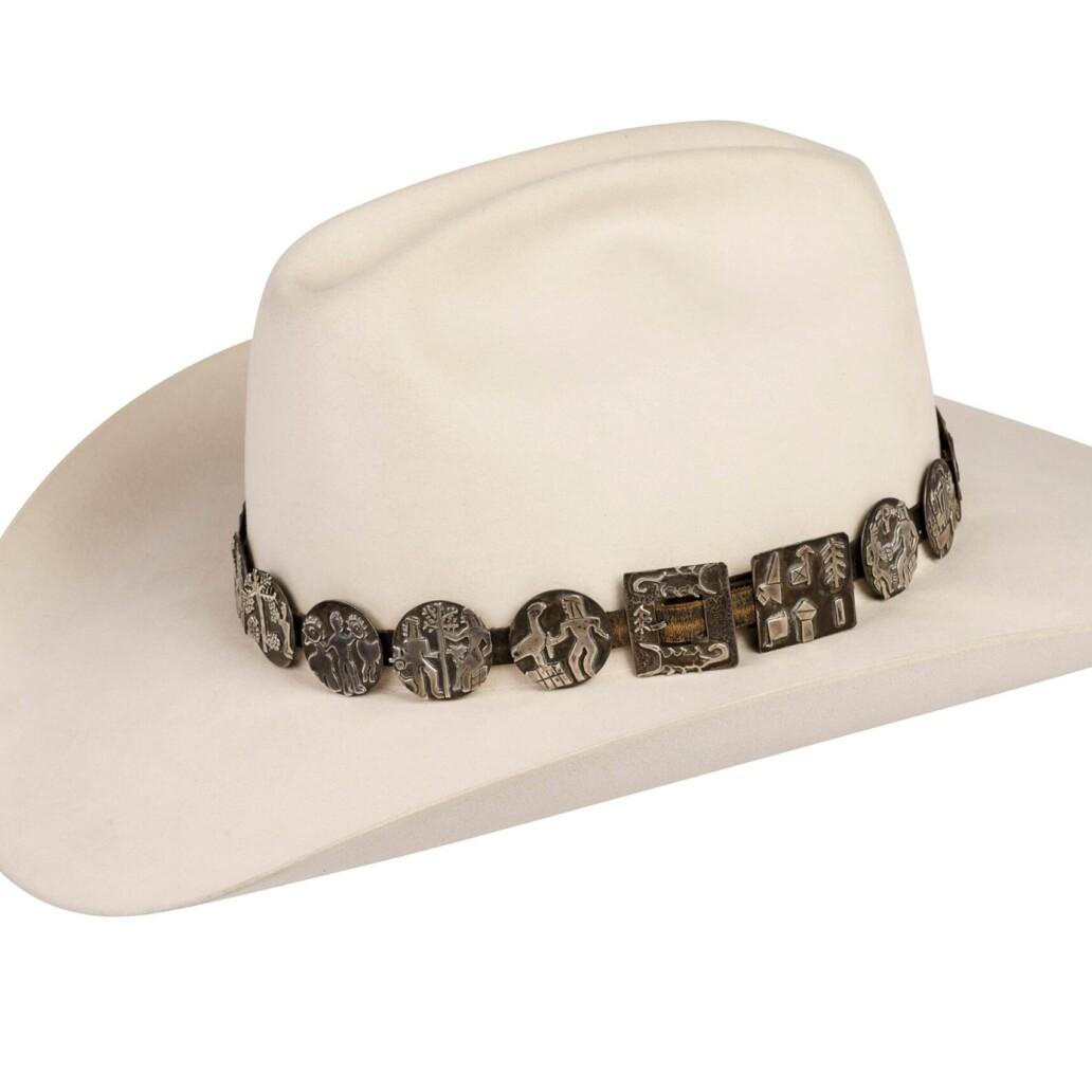 Alarid Sterling Storyteller Hat Band 6111