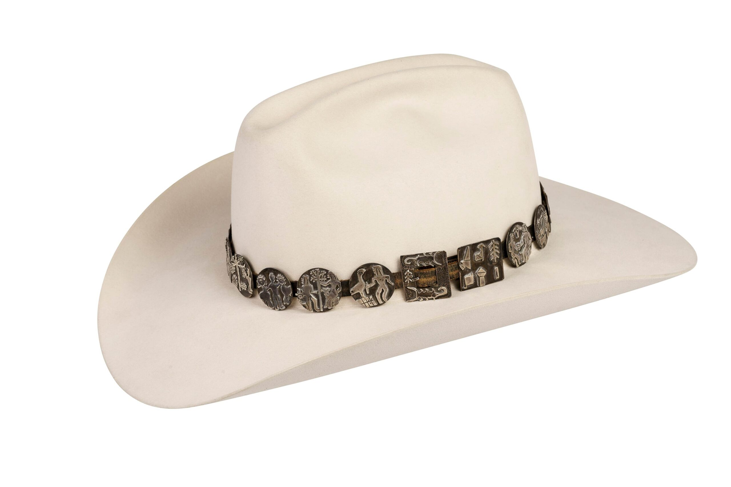 Alarid Sterling Storyteller Hat Band 6111