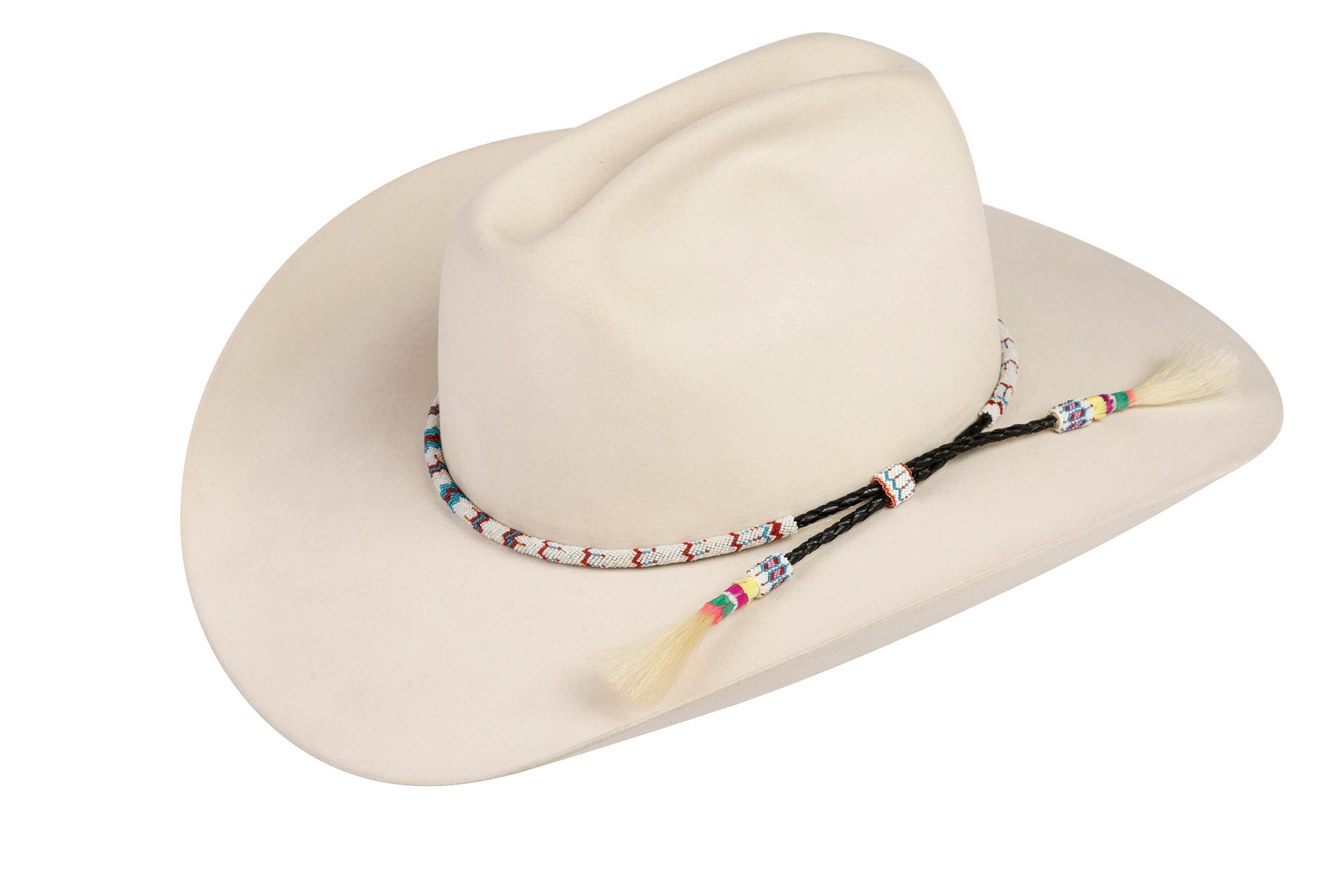 Chief Davis Peyote Stitch Hat Band