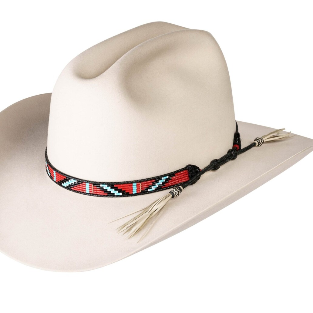 Estrada 5 Strand Rodeo Hat Band 5919