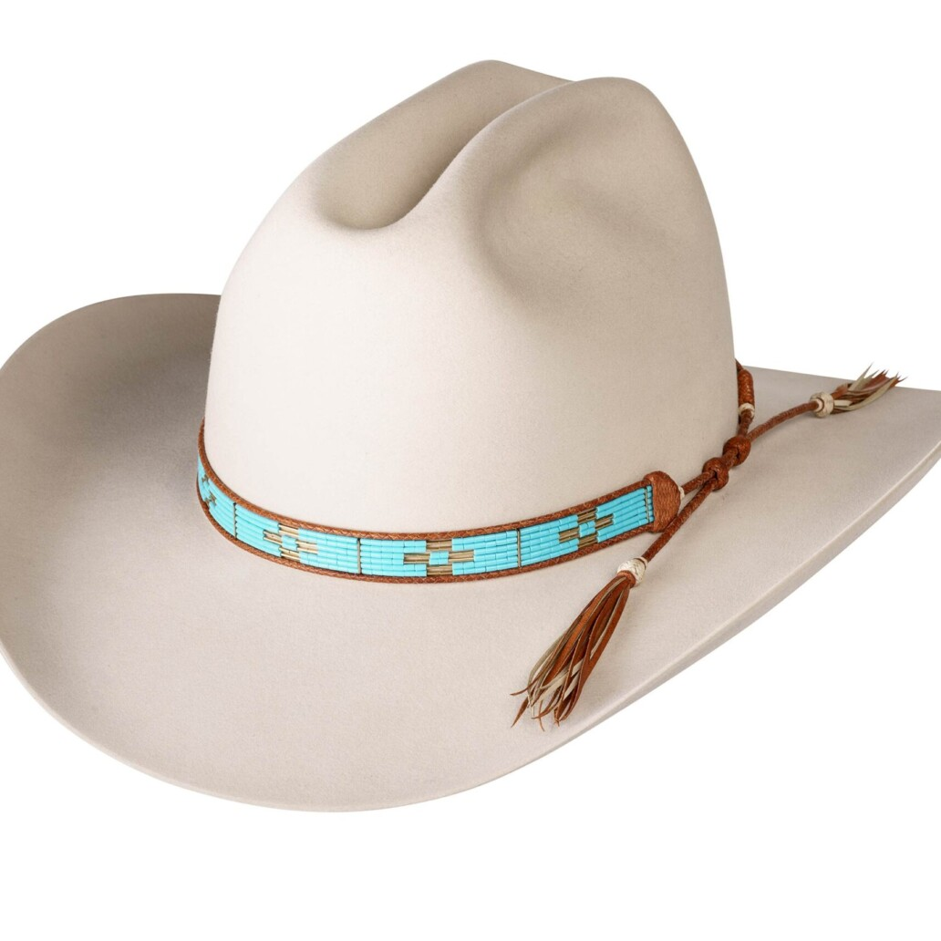 Estrada 6 Strand Rodeo Hat Band 5924