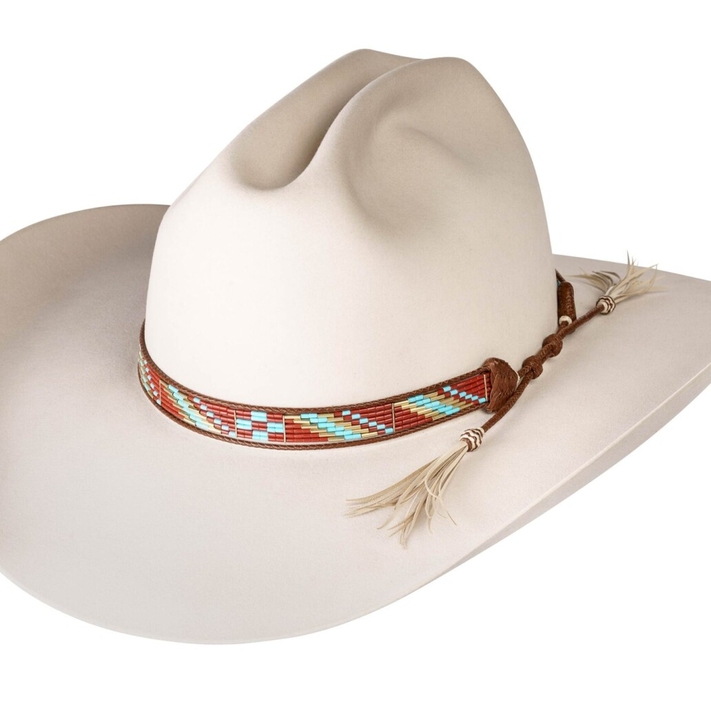 Estrada 6 Strand Rodeo Hat Band 5926