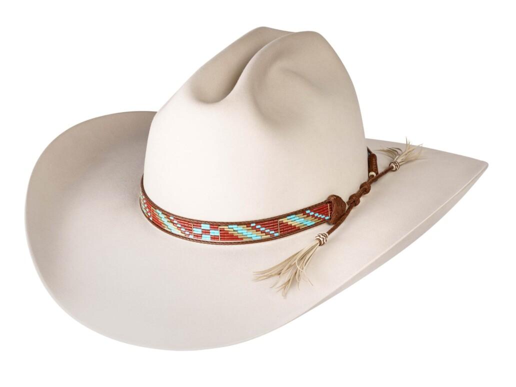 Estrada 6 Strand Rodeo Hat Band 5926