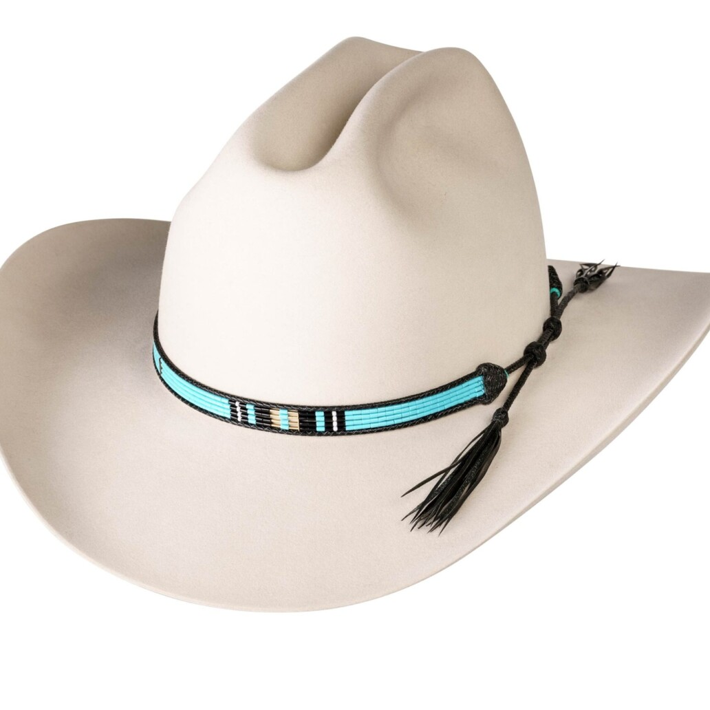 Estrada 4 Strand Rodeo Hat Band