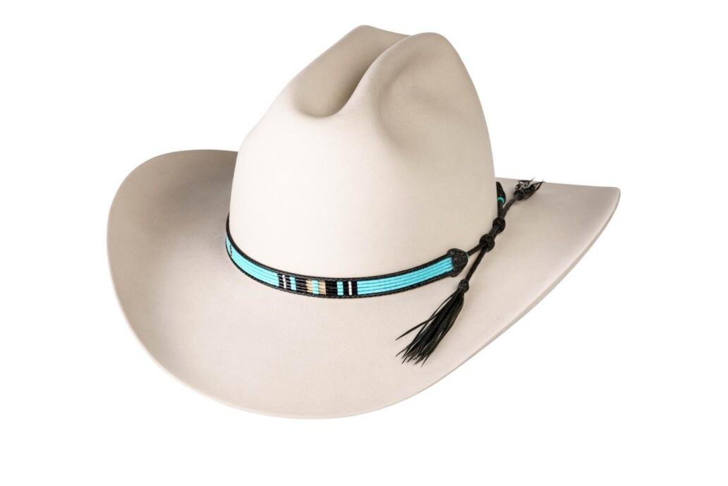 Estrada 4 Strand Rodeo Hat Band