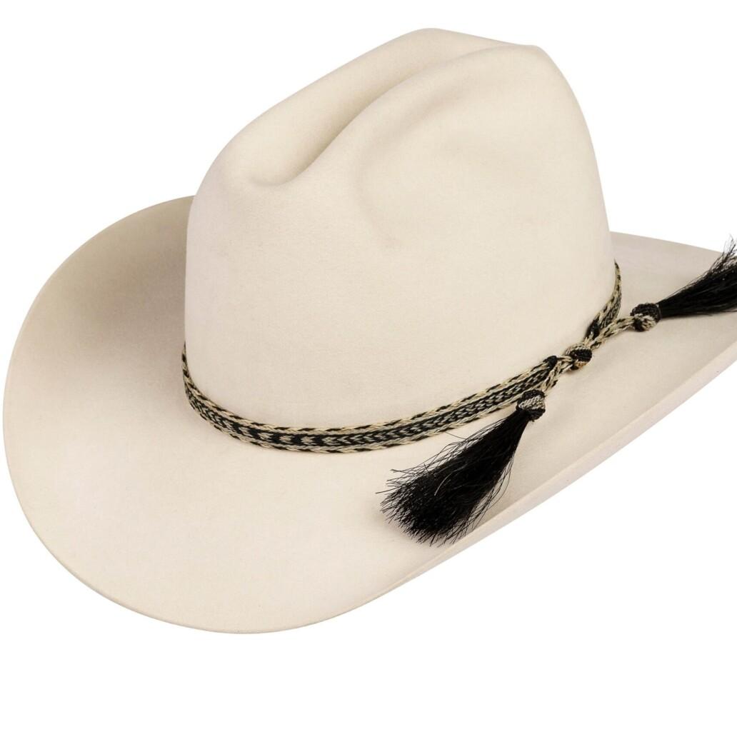 Hernandez Horsehair Double Tassel Hat Band 6121