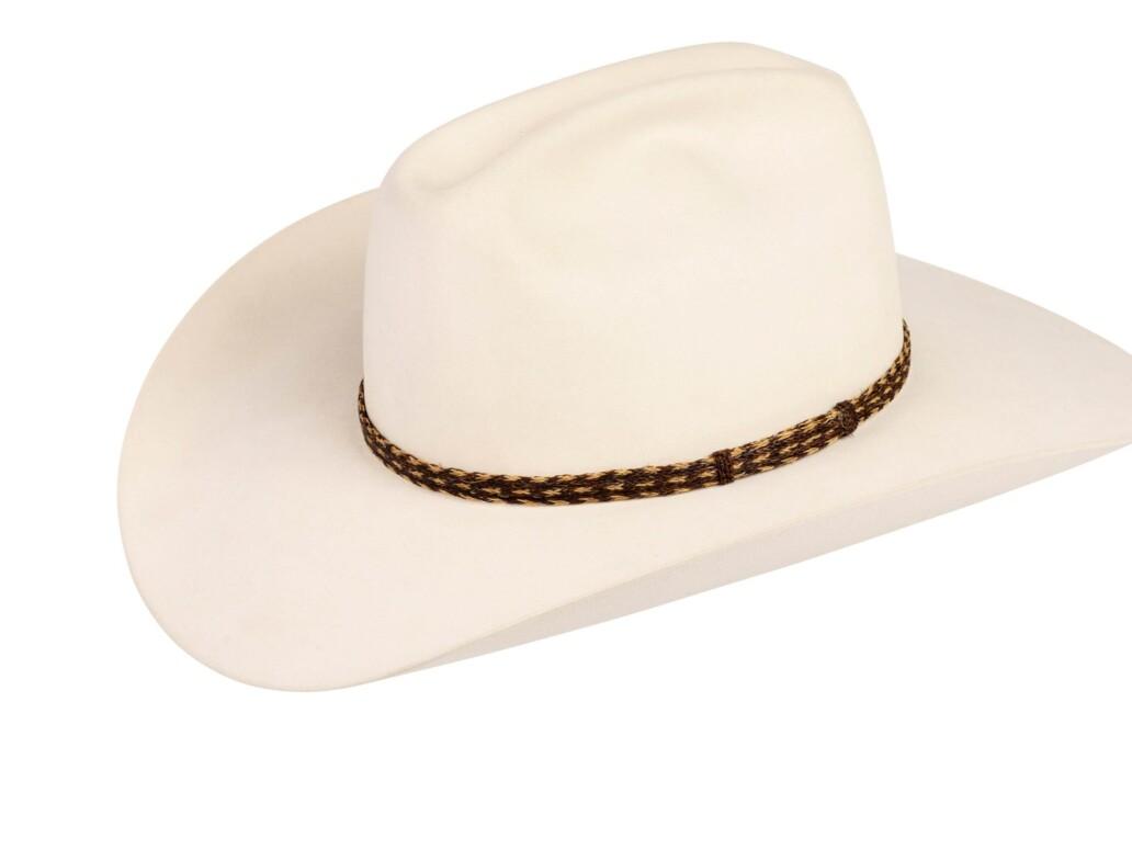 Hernandez Horsehair Hat Band 6127