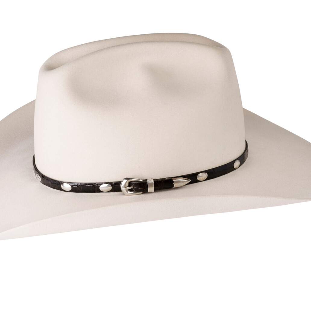 Kallas Sterling Smooth Oval Hat Band 5891