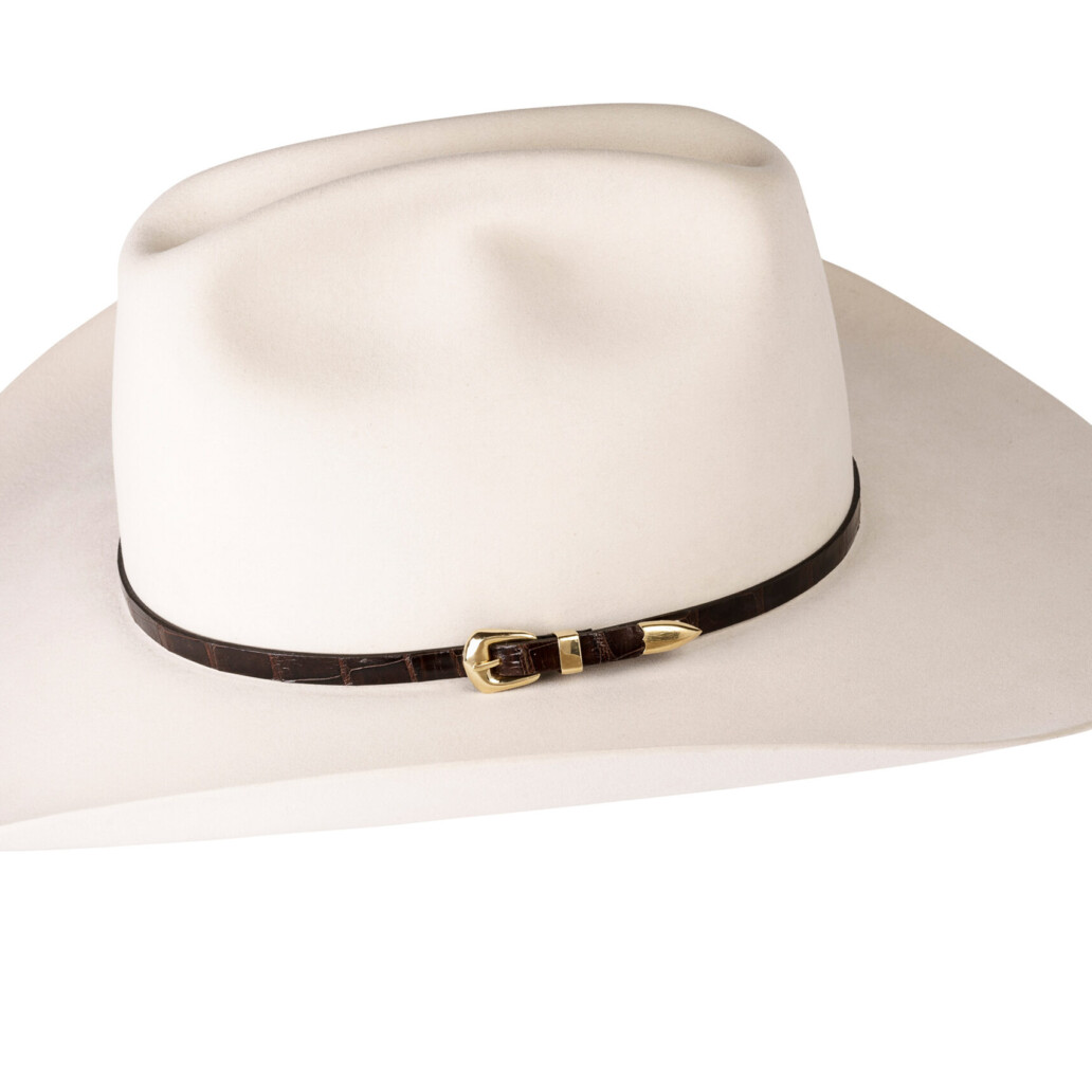 Kallas 18K Gold Buckle Set Hat Band