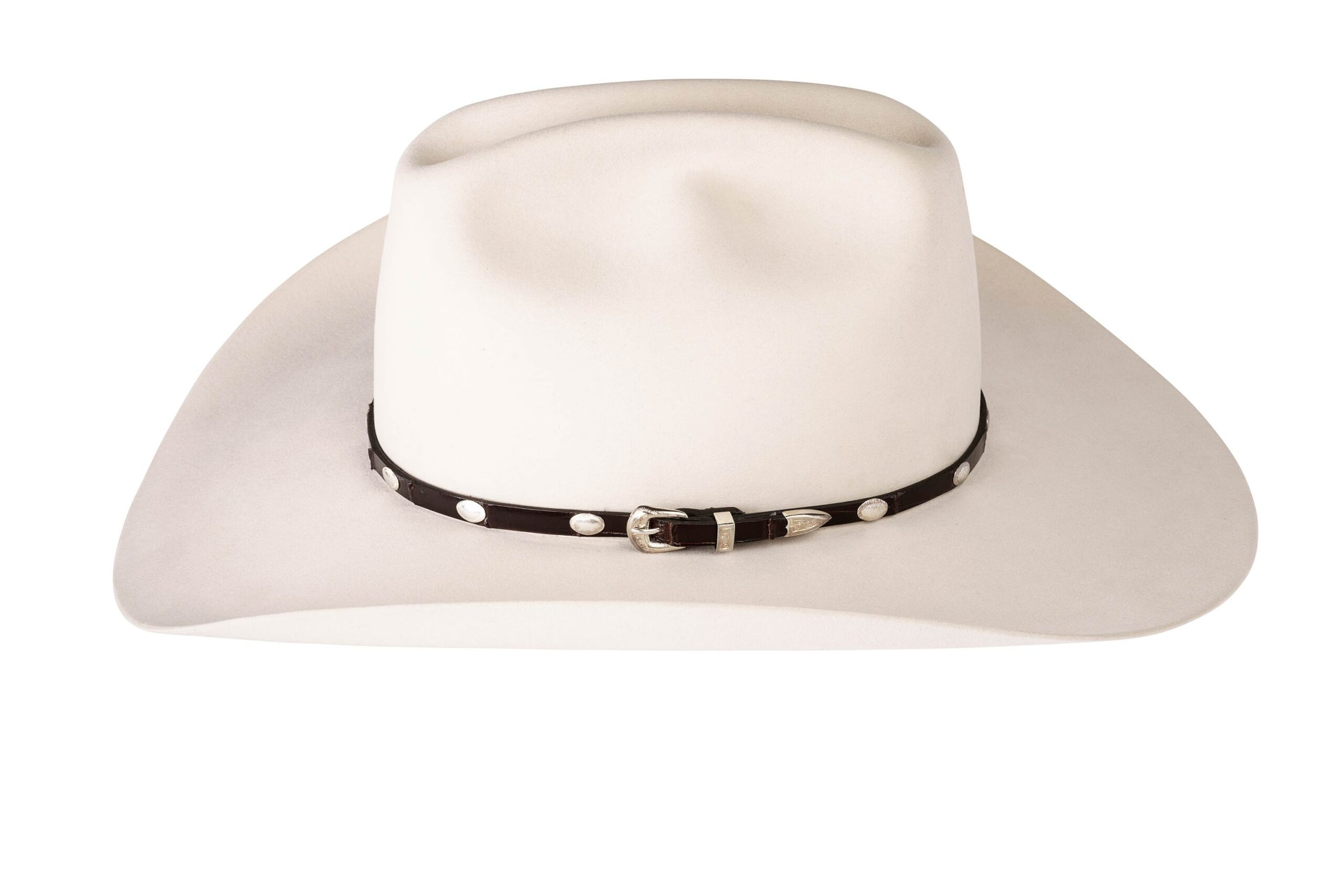 Kallas Sterling Smooth Oval Hat Band 5899