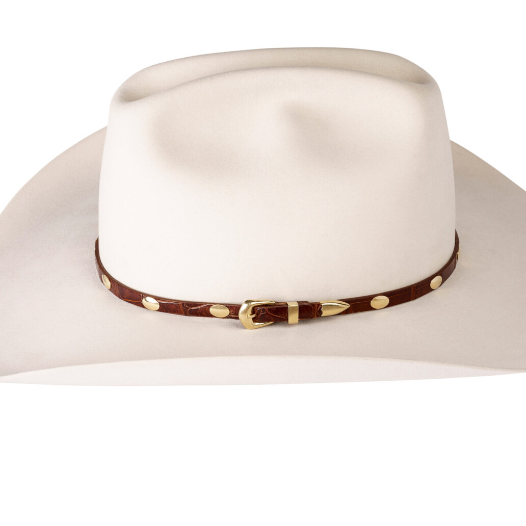Kallas 18K Gold Concho Hat Band