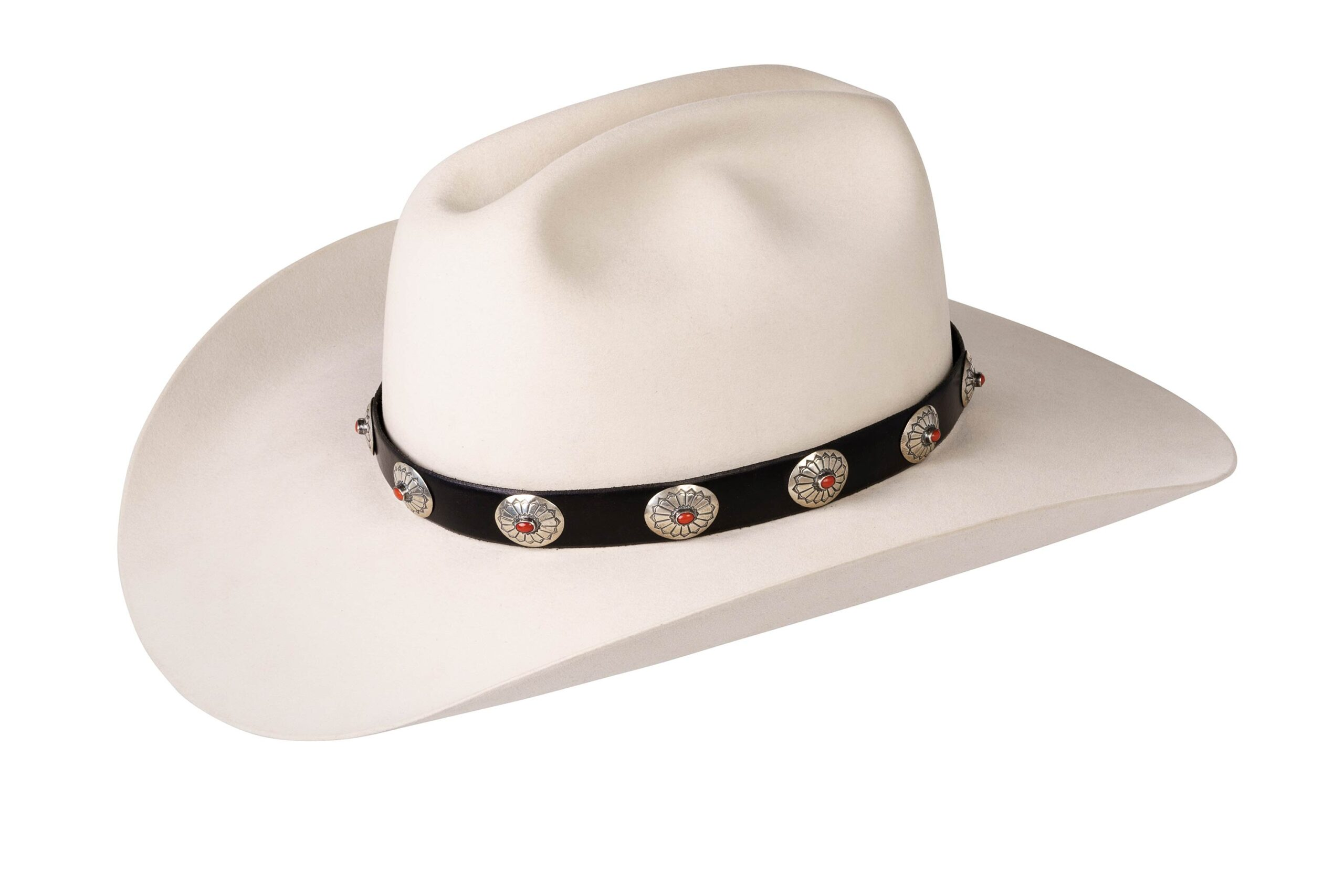 Ohlinger Wide Oval with Mediterranean Coral Hat Band