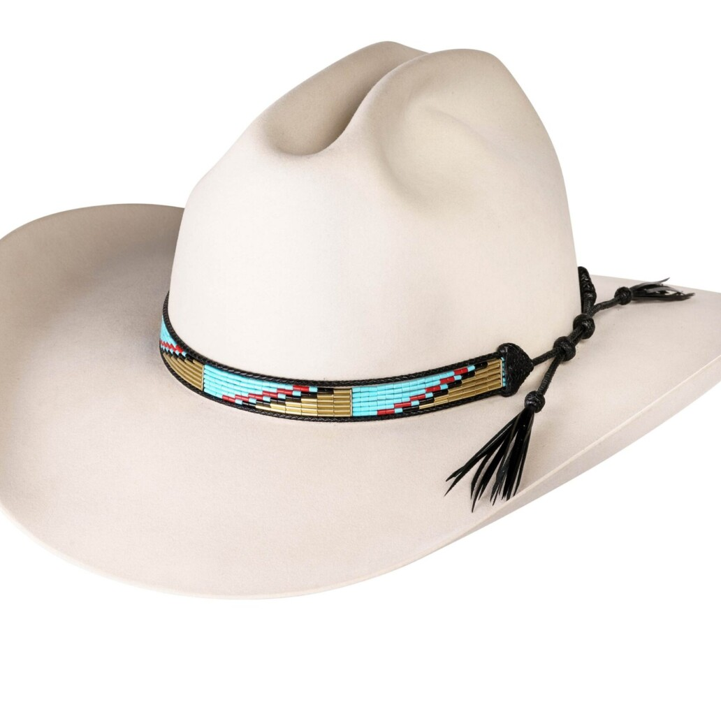 Estrada 6 Strand Rodeo Hat Band 5969