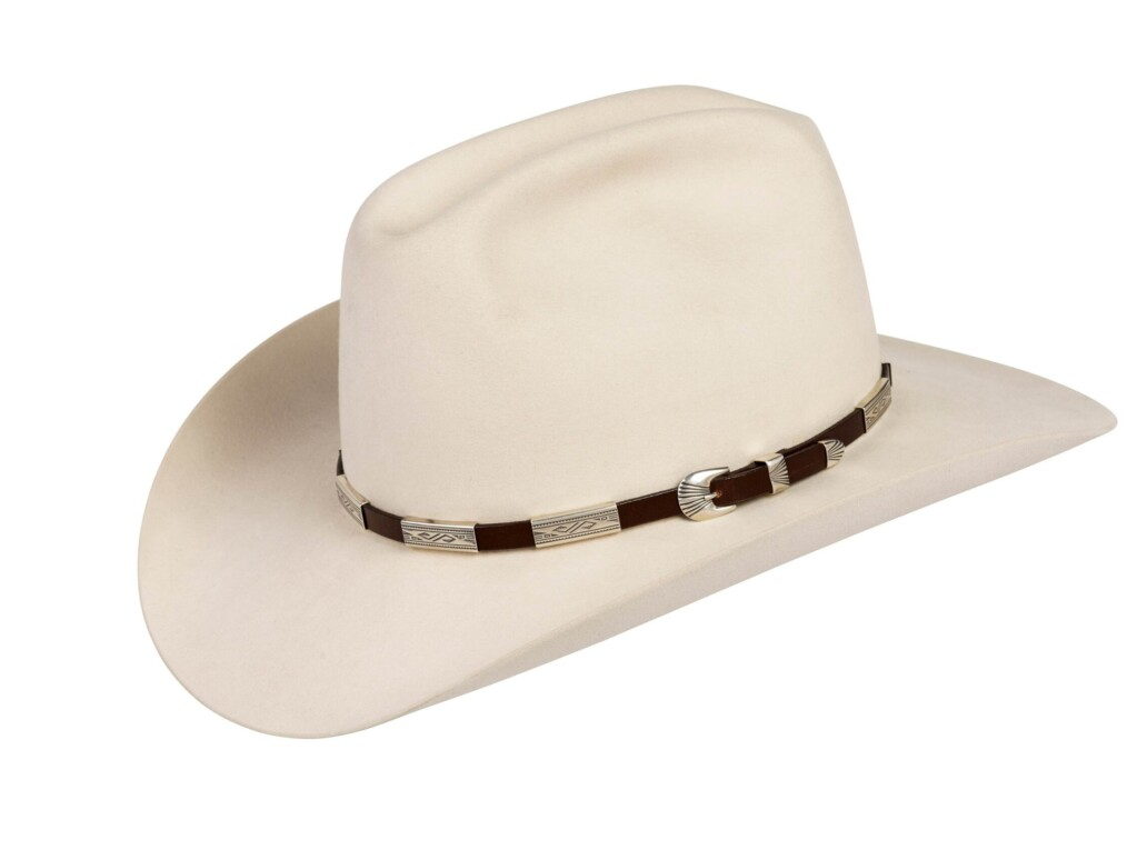 SM6 Hopi Bird Hat Band Silver Mesa with Buckle Set