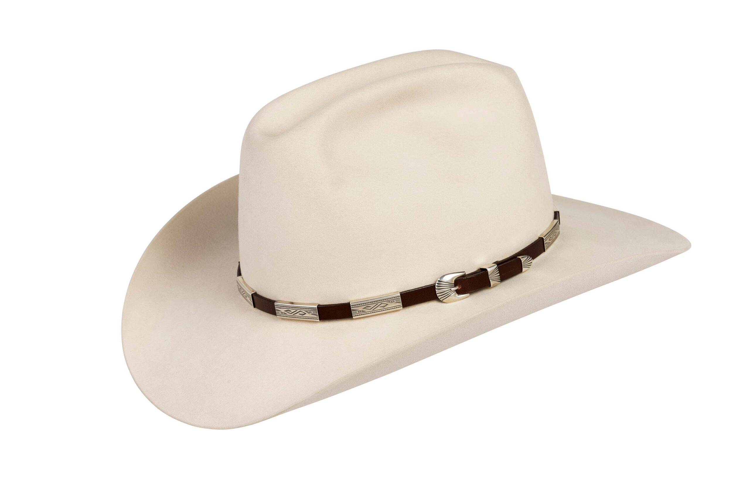 SM6 Hopi Bird Hat Band Silver Mesa with Buckle Set