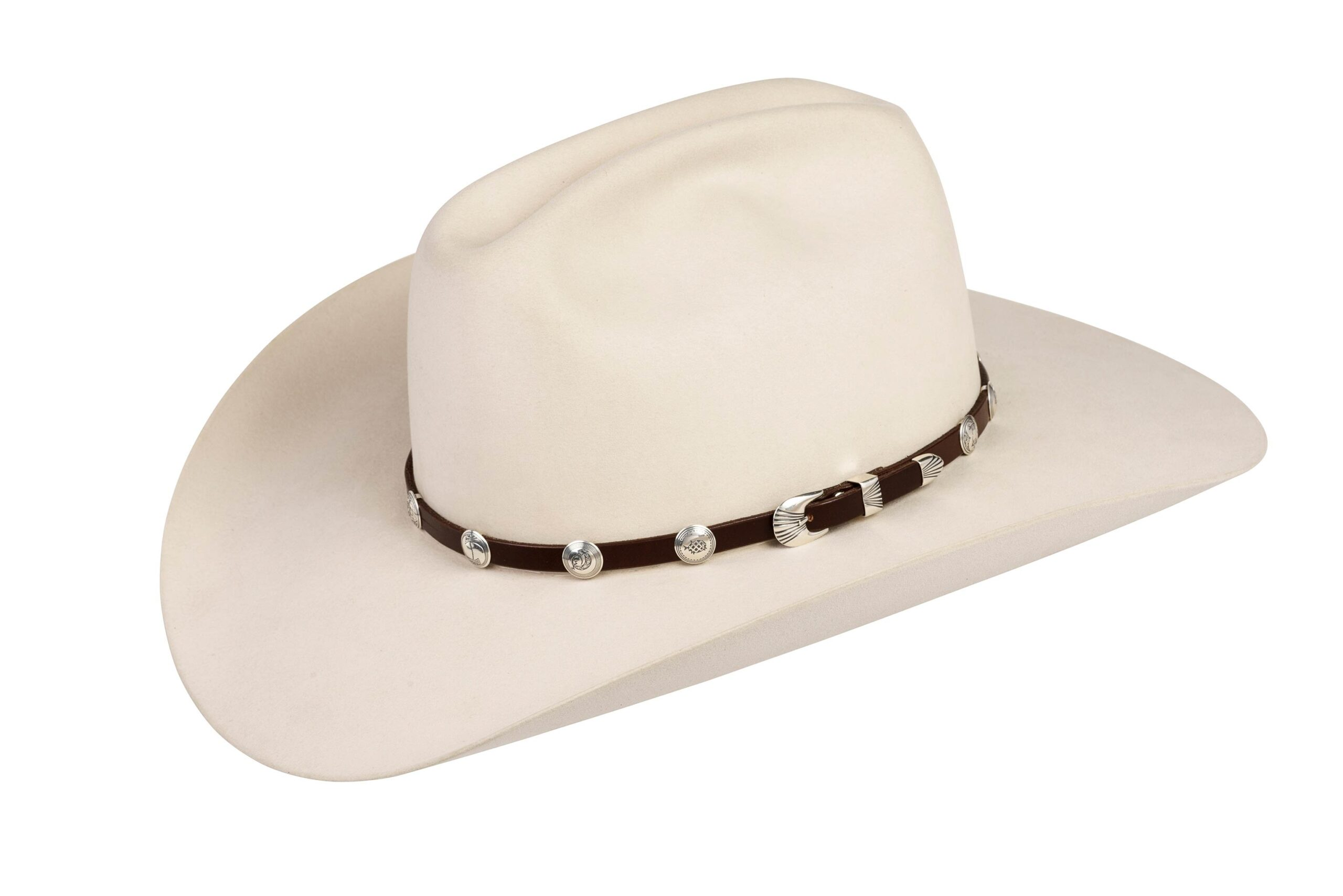 SM3 Small Mimbres Hat Band Silver Mesa
