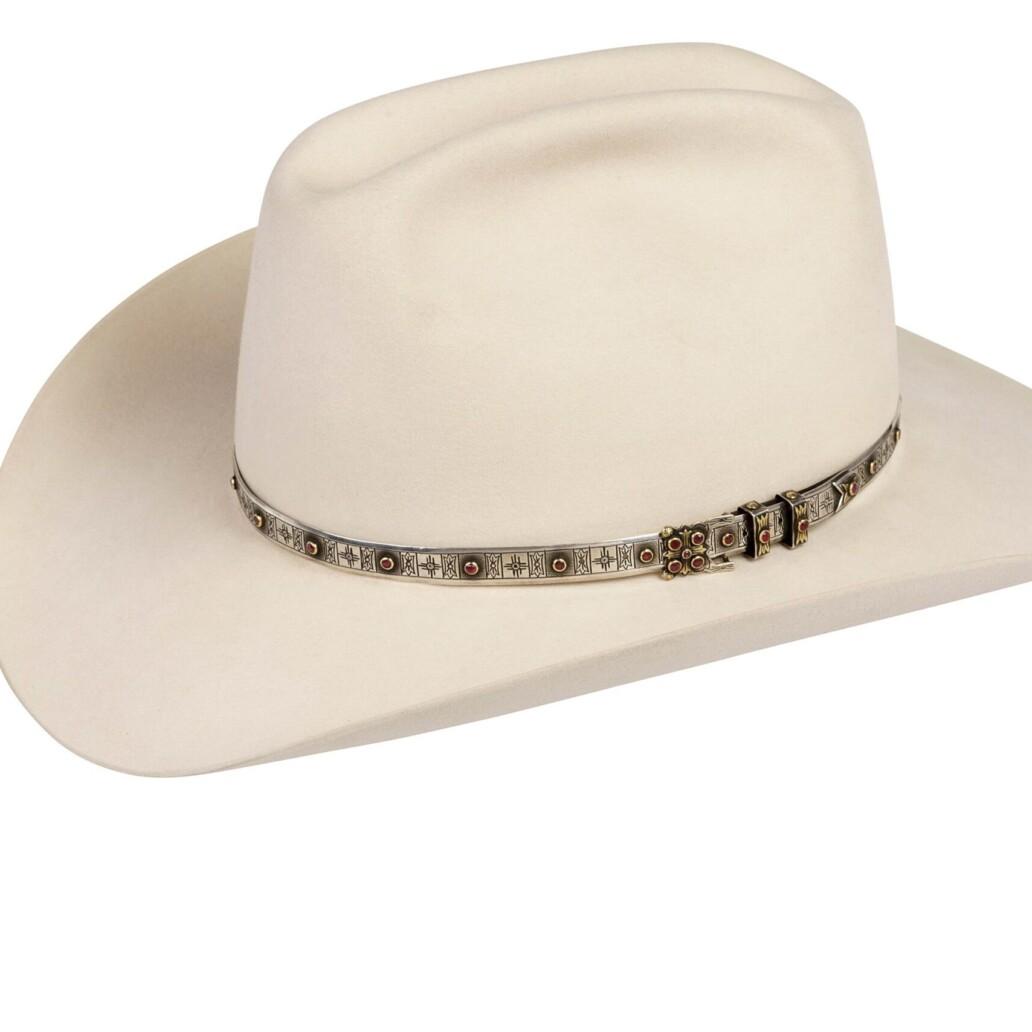 White Buffalo Quadri-Centennial Hat Band