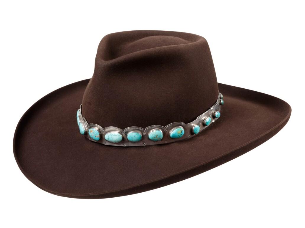 Gambler Fur Felt Hat