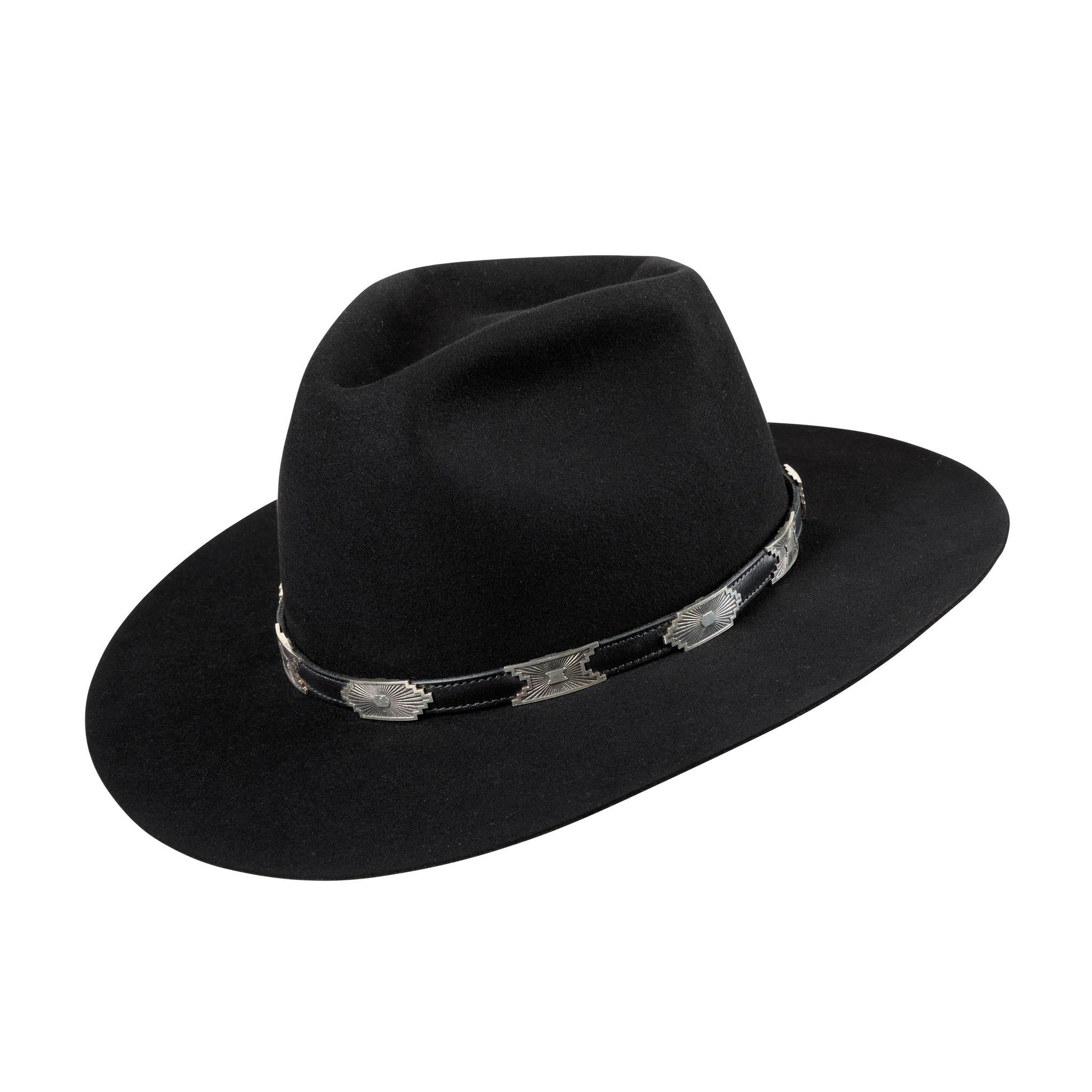 Three Point Dress Fur Felt Hat
