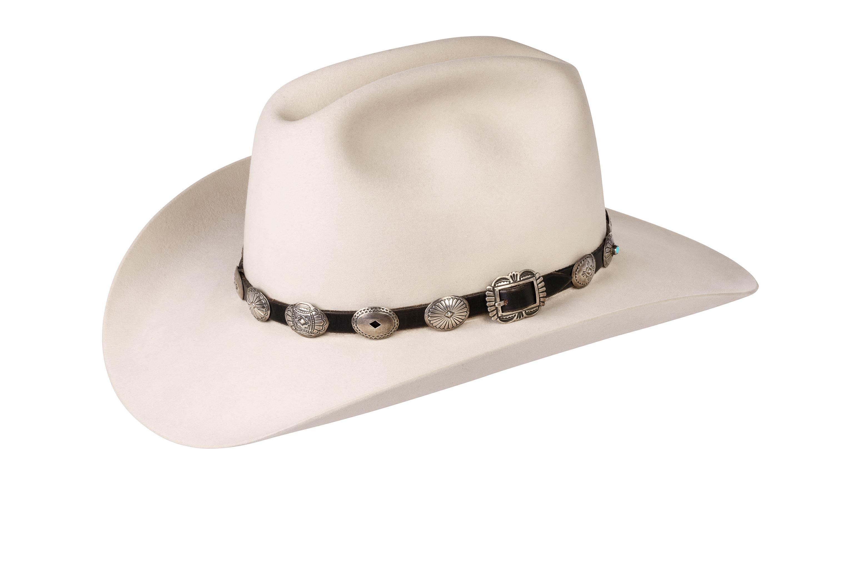 Ohlinger Stamped Coin Hat Band – Montecristi Hats
