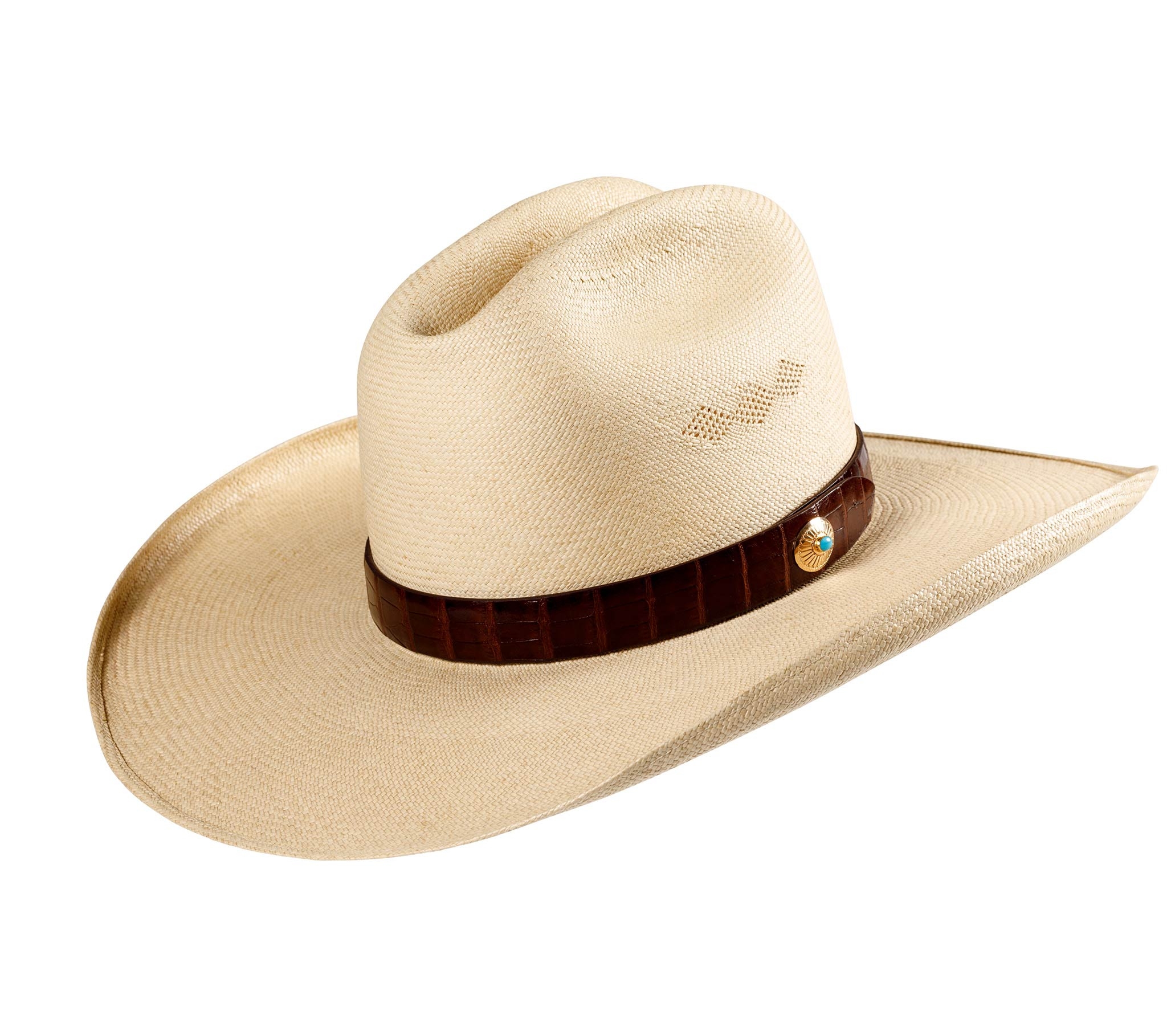 Wide Brimmed Tecate Cattleman Panama Hat – Montecristi Hats