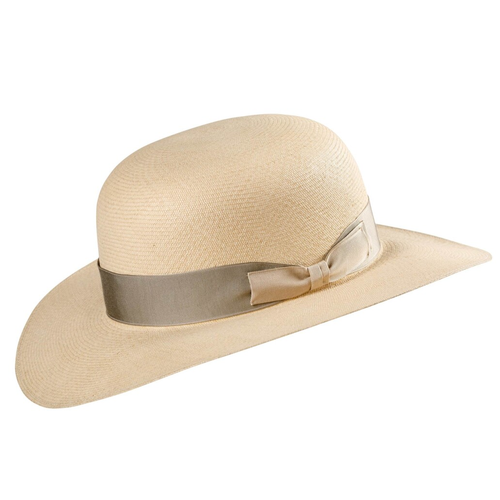 Cloche Cupid Panama Hat