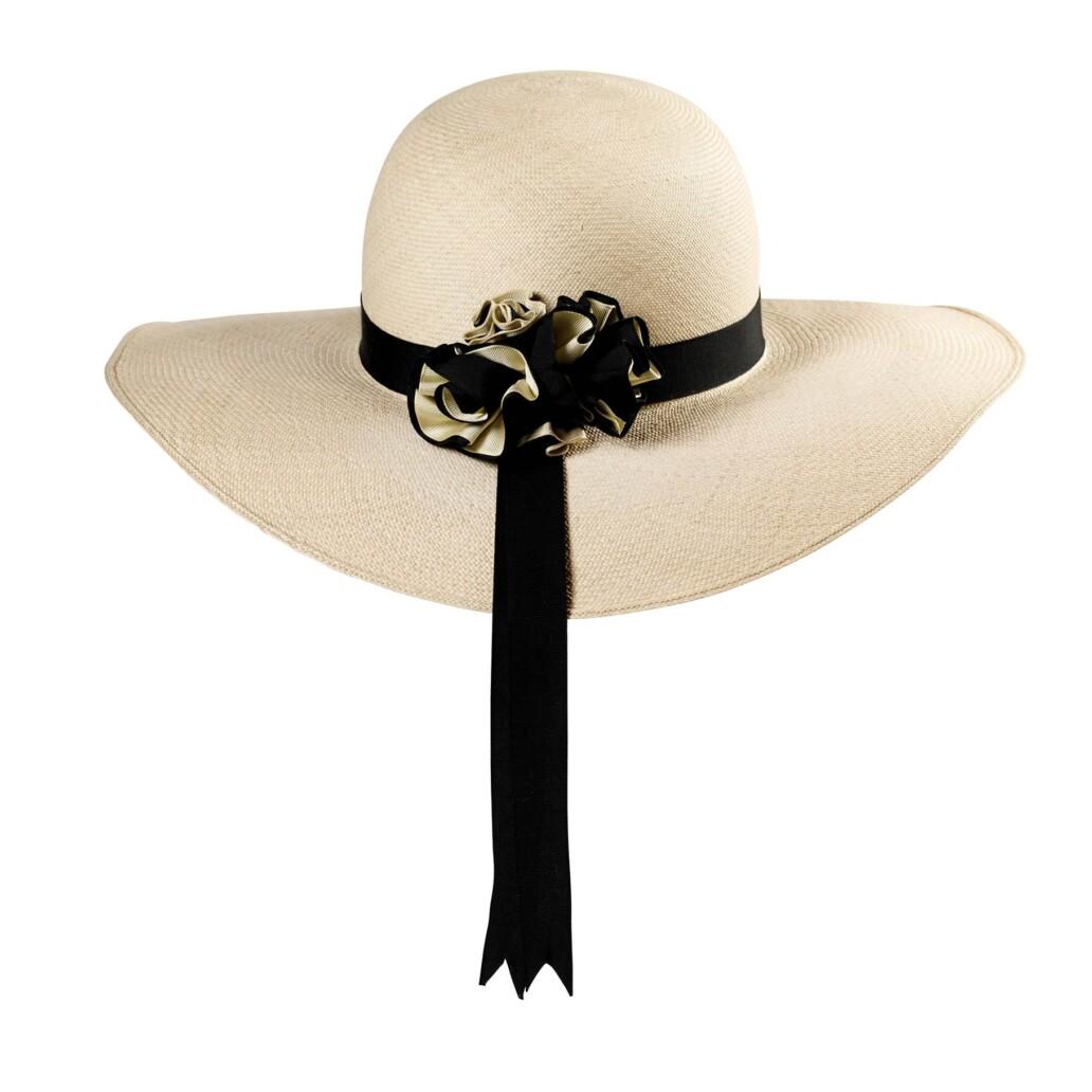 Cloche Panama Hat Back