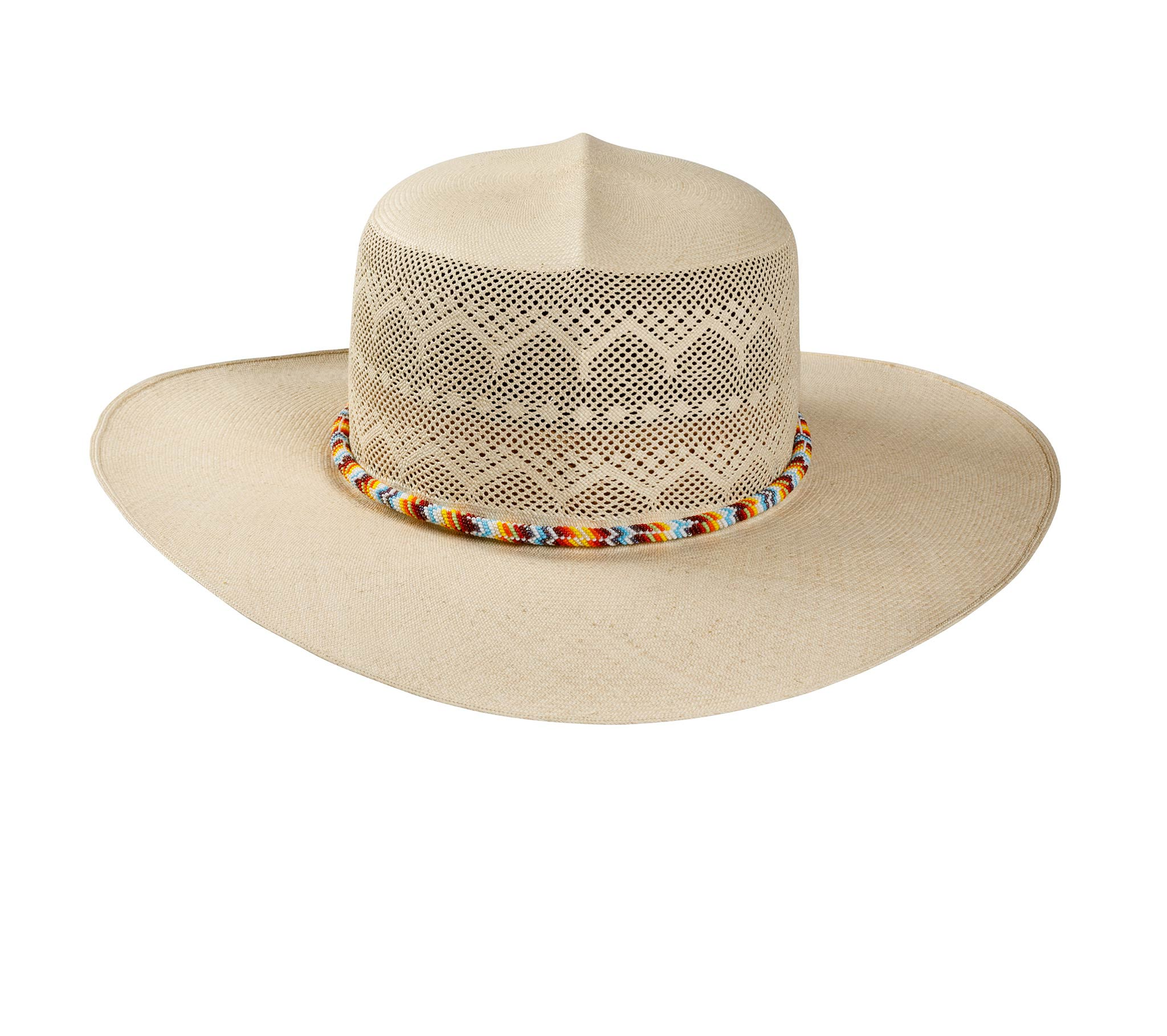 Wide brimmed Semi-Calado Optimo Panama Hat